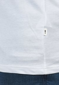 Solid - Long sleeved top - white bl m - 3