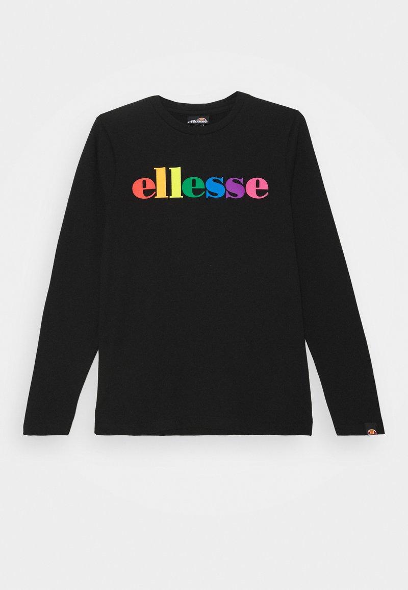 Ellesse - DISTIO UNISEX - Bluzka z długim rękawem - black