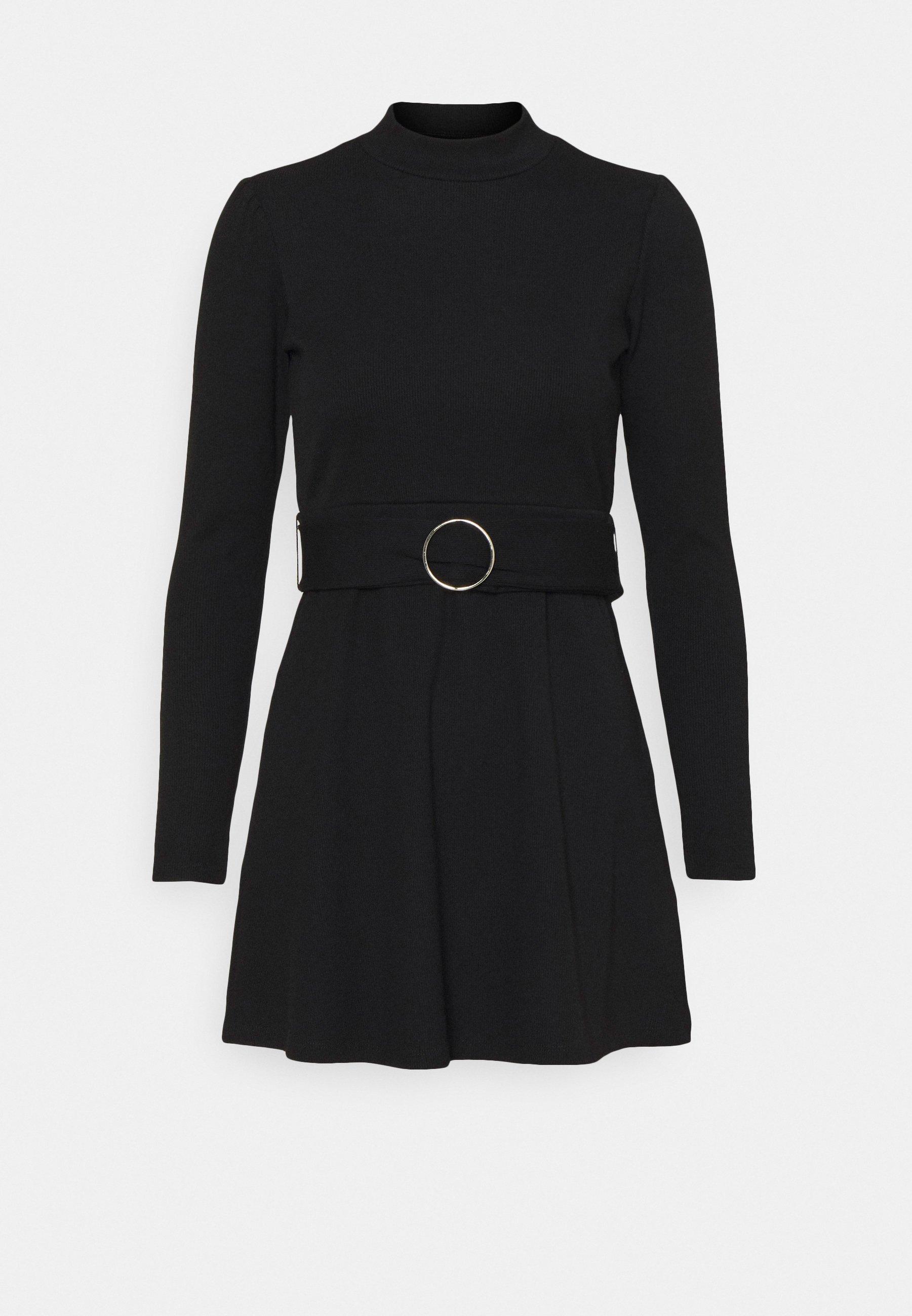 Mujer GIA BELTED MINI DRESS - Vestido de punto