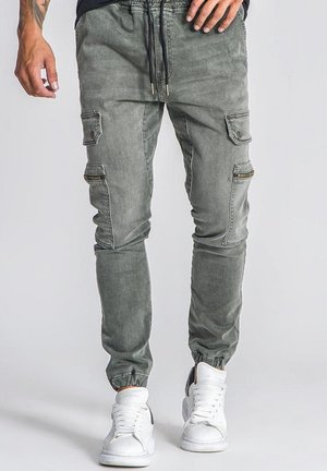 Jeans Relaxed Fit - army green