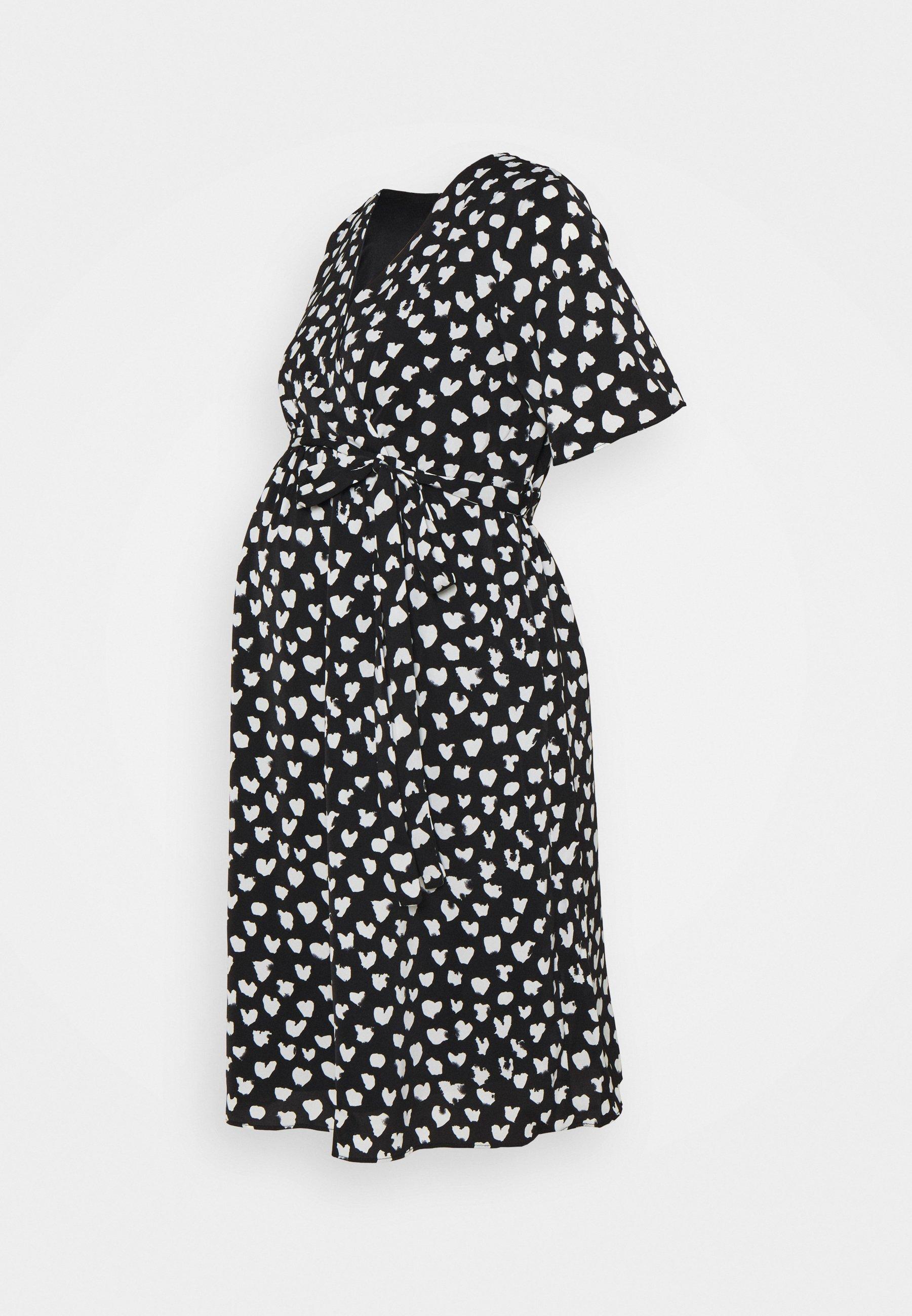 Women WRAP DRESS MATERNITY - Day dress