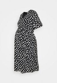 Glamorous Bloom - WRAP DRESS MATERNITY - Vestido informal - black - 0