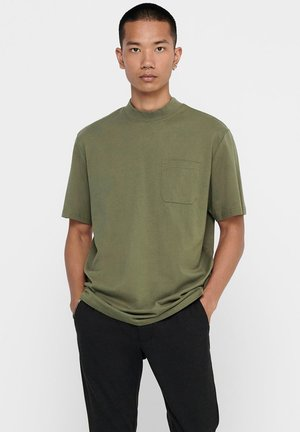 STEHKRAGEN - Basic T-shirt - tarmac