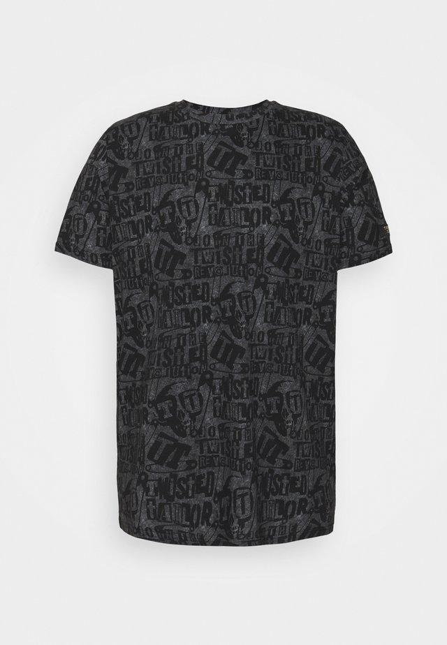 RANSOM - T-shirt con stampa - black white
