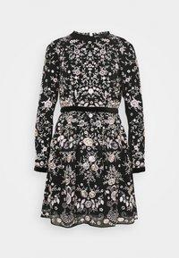 STUDIO ID - EMBROIDED DRESS - Cocktailkleid/festliches Kleid - black - 0