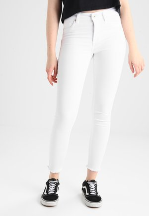 ONLBLUSH RAW - Jeans Skinny Fit - white