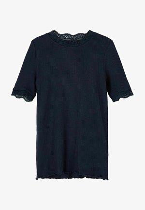 Basic T-shirt - dark sapphire