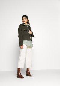 ONLY Petite - ONLGRAICE JACKET  - Summer jacket - kalamata - 1