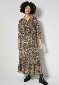Angel of Style - Maxi dress - beige - 0