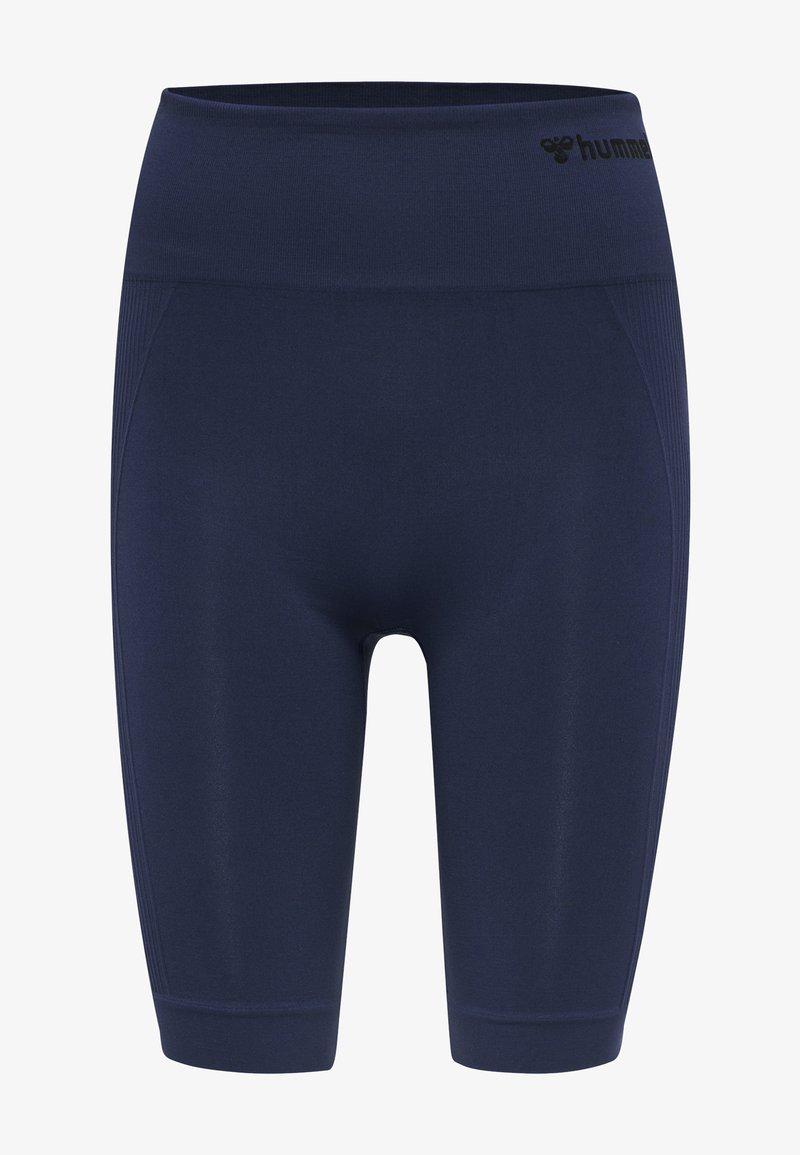 Hummel - SEAMLESS - Shorts - black iris