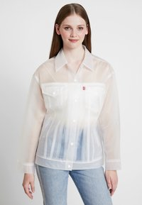 Levi's® - CLEAR BAGGY TRUCKERIN THE CLEAR - Regenjas - in the clear - 0