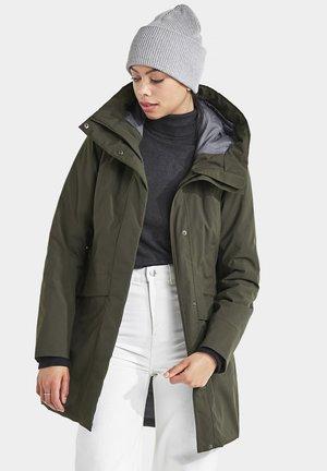CAJSA - Winter coat - forest green