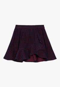 Friboo - A-line skirt - red/navy - 0