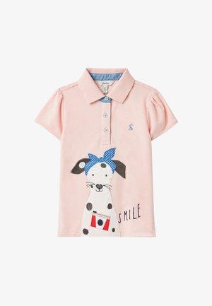 Poloshirt - rosa dalmatiner
