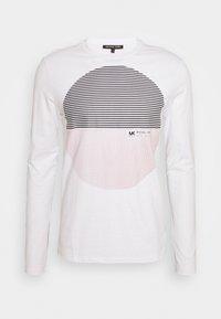 MODERN SUNSET - Long sleeved top - white