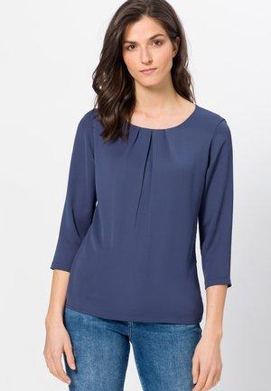 Blouse - velvet blue