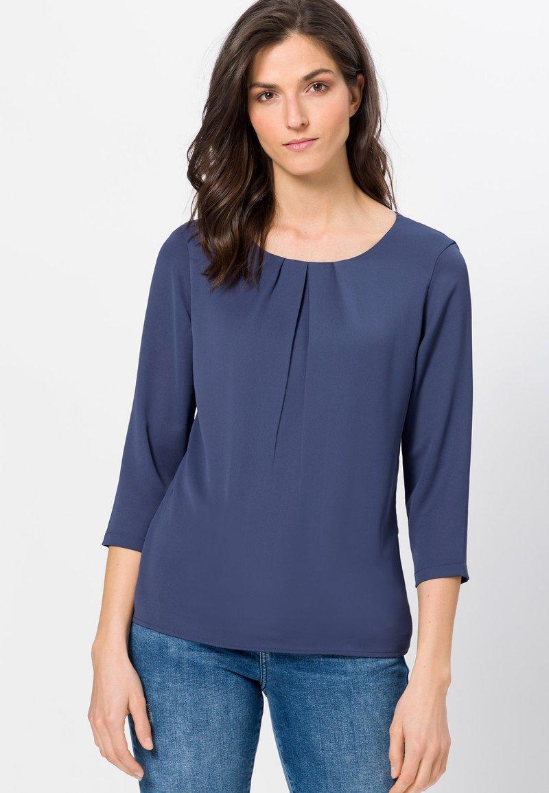 zero - Blouse - velvet blue