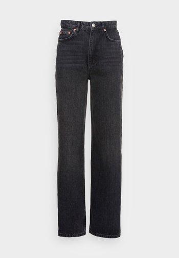 IDUN WIDE - Jeans baggy - offblack