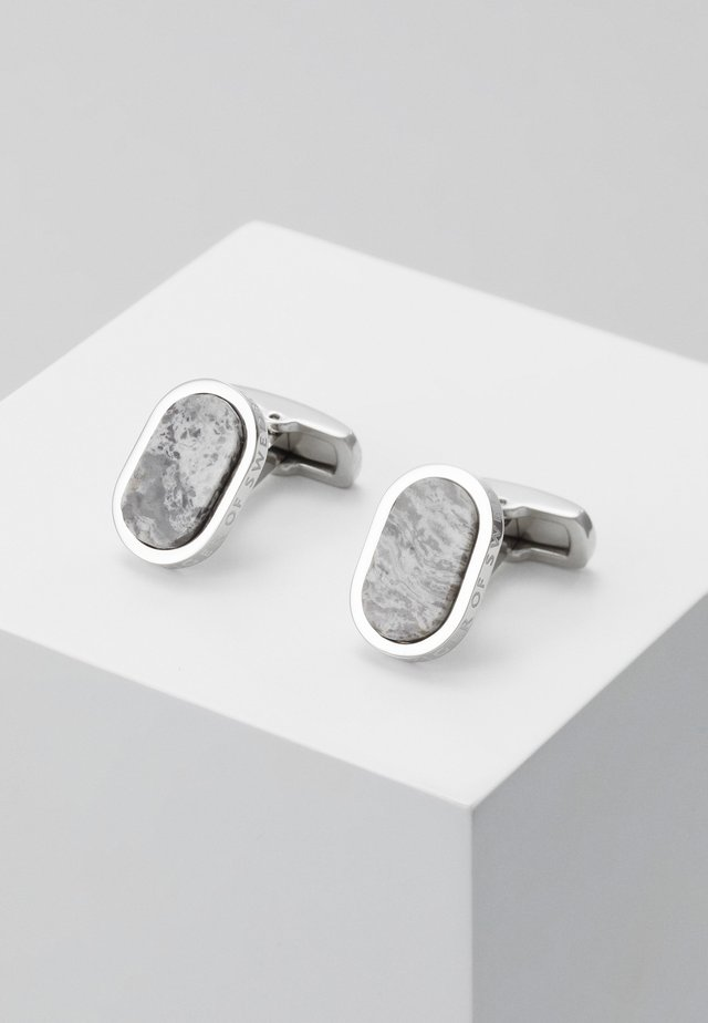 RIONE - Cufflinks - grey