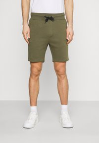 Pier One - 2 PACK - Shorts - olive/pink - 3