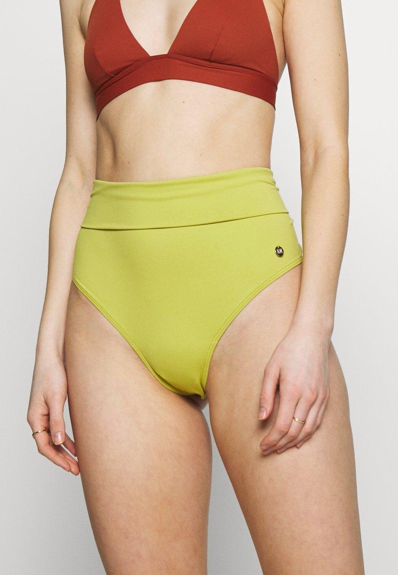 Max Mara Leisure - FIDATO - Bikini bottoms - apfelgruen