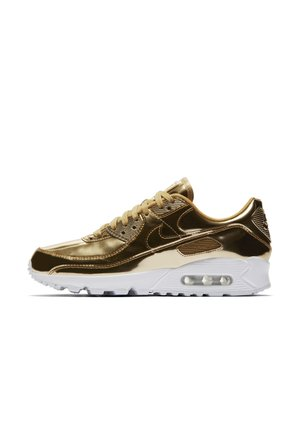 NIKE AIR MAX 90  - Trainers - metallic gold/club gold/white/metallic gold