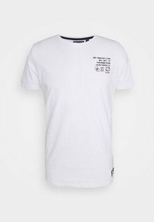 DEMETER - T-shirt med print - optic white