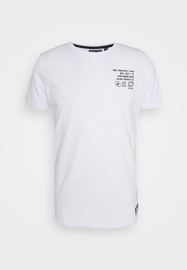 DEMETER - T-shirt con stampa - optic white