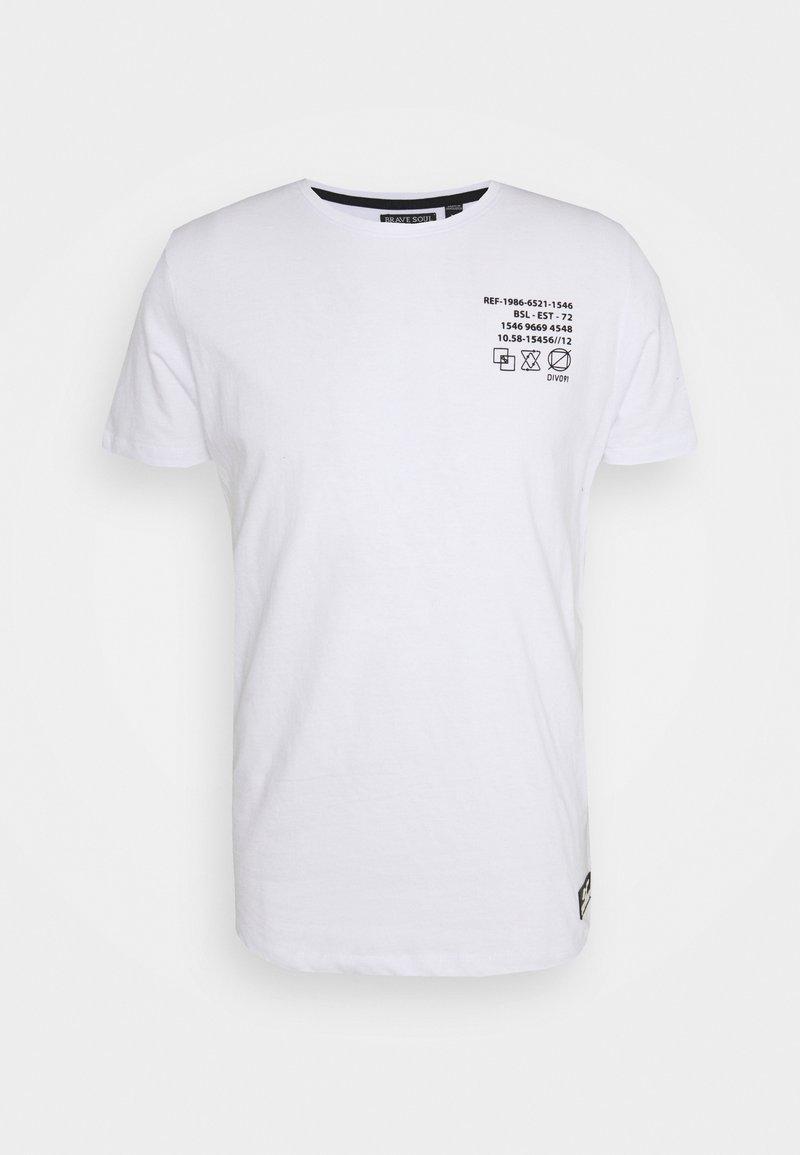 Brave Soul - DEMETER - Print T-shirt - optic white