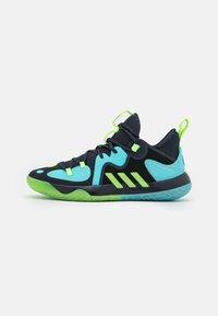 adidas Performance - HARDEN STEPBACK 2 BASKETBALL BOUNCE SHOES - Zapatillas de baloncesto - legend ink/signal green/pulse aqua - 0