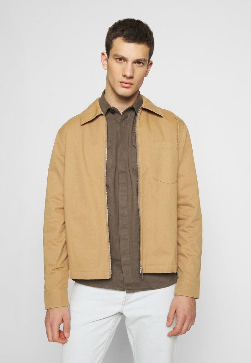 Weekday - AHMED ZIPPED - Summer jacket - beige