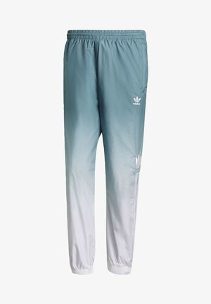 ADICOLOR 3D TREFOIL 3-STRIPES OMBRÉ TRACKSUIT BOTTOMS - Tracksuit bottoms - white