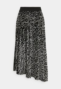 By Malene Birger - CAROSSA - A-line skirt - dark grey melange - 5