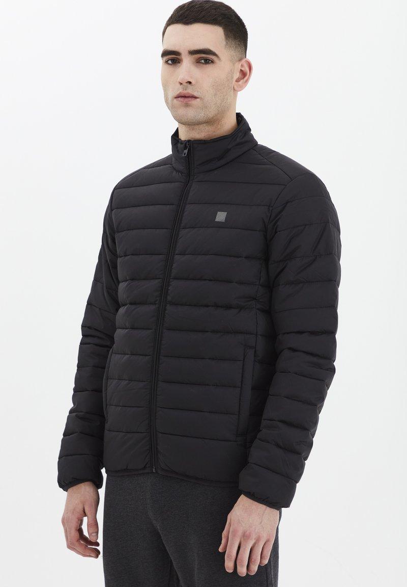 Solid - Light jacket - black