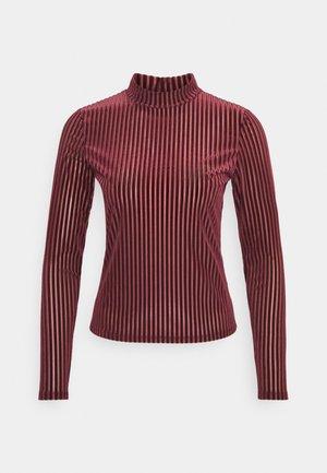 PIRA - Camiseta de manga larga - wine