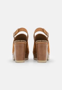 Refresh - Sandales à plateforme - camel - 3