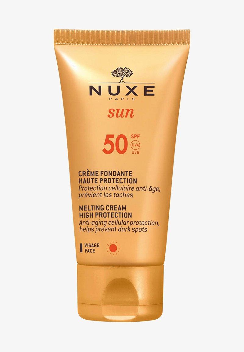 NUXE - SUN CRÈME FONDANTE HAUTE PROTECTION MELTING CREAM HIGH PROTECTIO - Sun protection - -