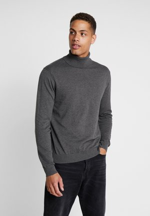 ROLLNECK - Jumper - dark grey