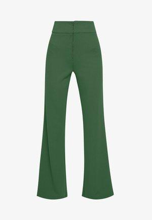 YASVICTORIA WIDE PANT - Trousers - greener pastures