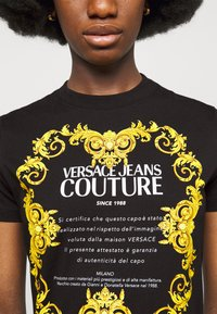 Versace Jeans Couture - LADY - Print T-shirt - black - 6
