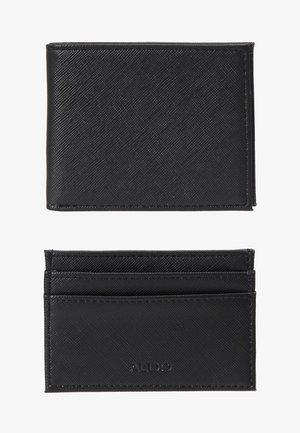 LEBSKO SET - Business card holder - black