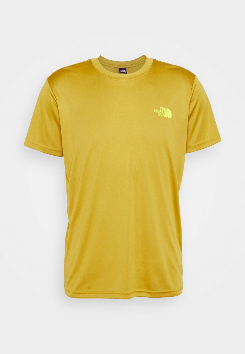 The North Face - REAXION BOX TEE - T-shirt med print - matcha green