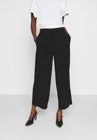 Filippa K - NAIA TROUSER - Trousers - black - 0