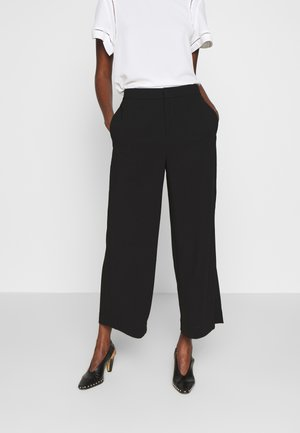 NAIA TROUSER - Bukser - black