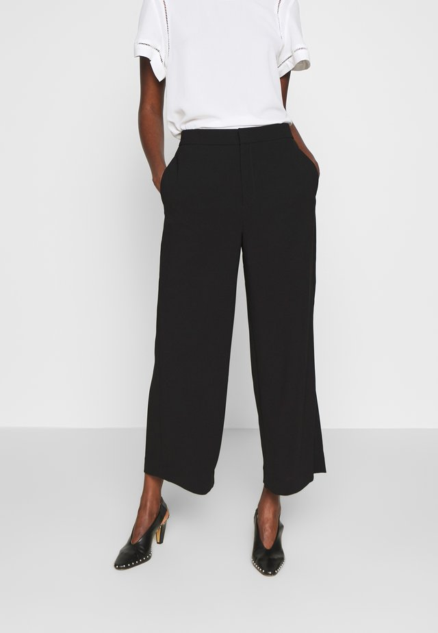 NAIA TROUSER - Trousers - black