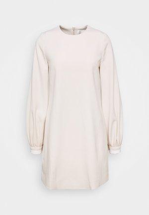 BELL SLEEVE SHIFT DRESS - Vestito estivo - cream