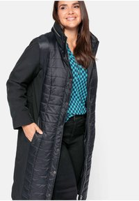 Sheego - Winter coat - schwarz - 3