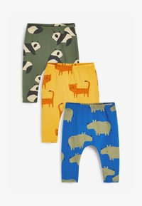 Next - 3 PACK  - Leggings - Trousers - green - 0
