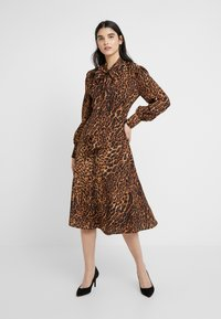 Lauren Ralph Lauren - POLY DRESS - Day dress - black/multi-coloured - 0