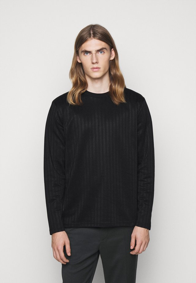 TEDDY - Langarmshirt - black